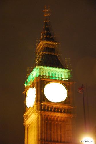 Парламент і Біг Бен Лондон вночі InterNetri United Kingdom 0444
