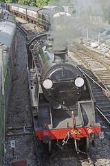 S15 506 at Alresford Station, 31 Aug 2000 (Ian D Nolan) Tags: railway mhr station 35mm epsonperfectionv750scanner alresfordstation s15 506 lswr 460z
