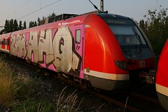 ZAK AHQ Wholecar (rebecca2909) Tags: ahq zak wholecar vandal spraypaint db deutschebahn paintedtrain trains train graffiti graff germangraffiti cologne köln