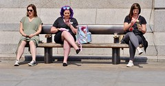 Expressionism (jaykay72.) Tags: london uk street candid streetphotography trafalgarsquare stphotographia