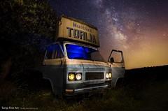 Torrija fine art (fusky) Tags: vialactea milkyway camión truck abandonado abandon fusky lightpainting night noche starts