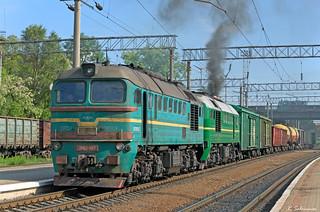 UZ 2M62-1157/xxxx, Ternopil, 2018/05/23.