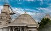 Temple Architecture (Balaji Photography - 4.9M views and Growing) Tags: temple templesofindia templearchitecture indiatemplearchitecturetempleindiaindia jaintemple sku gopuram tower kumbam kalasam goldkalasam goldvimanam shrine architecture blue clouds