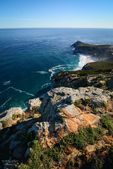 South Africa | Diaz Beach - Cape of Good Hope (Nicholas Olesen Photography) Tags: south africa cape good hope diaz beach ocean sea water cliff rocks vertical outdoors travel nikon d7100