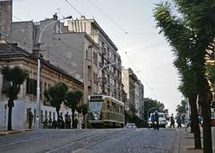 Beograd tram 114 (TrainsandTravel) Tags: yugoslavia yougoslavie jugoslawien jugoslavija serbia serbien serbie srbija metregauge meterspur voiemetrique uskimanometar trams tramways strassenbahn tramvaji belgrade belgrad beograd pcc