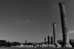 L'Olympieion (marco4s.ph) Tags: grecia temple tempio atene rovine greece ruins athens