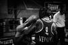 _DSC1046 (Diego Rosato) Tags: ring match incontro boxe boxing pugilato boxelatina nikon d700 2470mm rawtherapee tamron pugno punch hoo gancio bianconero blackwhite