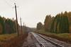 перегон Меза - Судиславль (logica.bs) Tags: меза судиславль жд сев сжд перегон осень путь дорога транспорт