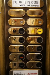 DSC05122 (Let Ideas Compete) Tags: italy catania sicily elevator elevatorbuttons