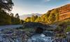 Ashness Bridge at sunset. (Muthill Roxs) Tags: ashness skiddaw ashnessbridge keswick derwentwater lakedistrict