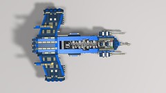 vulture v14 homing gunship6 (demitriusgaouette9991) Tags: lego army military armored ldd gunship powerful transport