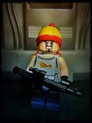 The Hero of Canton (LegoKlyph) Tags: lego custom mini figure brick block build tv scifi space cowboys firefly theverse joss aliens hats guns