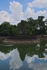 The Sanctuary (hans.sutanto) Tags: statue sanctuary reflection pond temple siemreap neakpean cambodia travel asia explorecambodia exploreasia khmer southeastasia