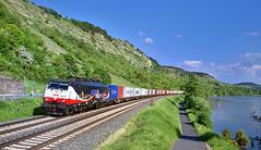 MRCE/LTE 189 212 Gambach (tobias.unsin) Tags: railway rail railroad locomotive lok logistik landschaft lte zug güterzug maintal bahn bavaria bayern sunshine