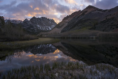 Alpine Light (Explored) (santosh_shanmuga) Tags: exploreexplored north lake northlake eastern sierra sierras easternsierra range light rangeoflight sunset alpine mountain reflection landscape nature wild vista beautiful scenery world earth ca california inyo nikon d810 1424mm ultrawide