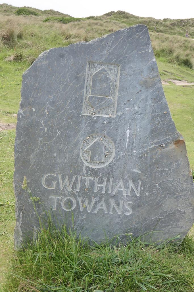 coast path at Gwithian Towans