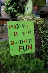 2017 - Open Square Garden - Saturday - Dalston East Curve Garden-7114 (Out To The Streets) Tags: 2017 20170617 dalston dalstoneastcurvegarden europe hackney june2017 london opengardensquares opengardensquares2017 opengardensquares2017sunday uk unitedkingdom gree play sign text word