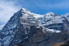 Eiger (Hans van Bockel) Tags: hansvanbockel d7200 nikon sigriswil zwitserland ch eiger mönch jungfrau kleinescheidegg joch jungfraubahn wandelen sneeuw ijs gletscher 1680mm