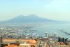 Mount Vesuvius in the distance (zawtowers) Tags: naples napoli campania italy italia may 2018 summer holiday vacation break warm dry sunny tuesday 29th castel santelmo castle bult 1537 historic hilltop overlooking city vomero hill mount vesuvius distance imposing large