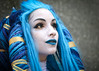 Shiva FFX cosplayer at ExCeL London's MCM Comic Con, May 2018 (Gordon.A) Tags: london docklands londondocklands excel excellondon excellondonexhibitioncentre moviecomicmedia mcm con convention comicbookconvention comiccon mcmcomiccon mcmlondon comicconlondon comicconlondonexcel 2018 may2018 mcm2018 creative costume culture lifestyle style shiva shivaffx finalfantasyx macalania macalanianprincess aeon cosplay cosplayer cosplayportrait cosplayphotography festival event eventphotography amateur pose posed portrait portraitphotography streetportrait streetphotography colourportrait colourstreetportrait naturallight naturallightportrait canon eos 750d canoneos750d digital sigma sigma50100mmf18dc