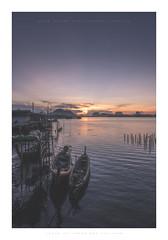 The duet (Khun Jeremy) Tags: thailand phangnga longtail sea fisherman sunrise dawn samchongtai
