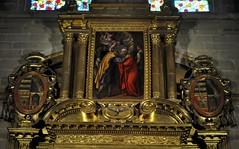 a4x. Astorga (León-España). Catedral. Capilla de la Inmaculada. Retablo de 1627 obra de Francisco Ruiz. Detalle (santi abella) Tags: astorga león castillayleón españa catedraldeastorga retablos