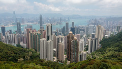 A View of Hong Kong Skyline (Alex E. Proimos) Tags: hong kong city town china asian influence crowded
