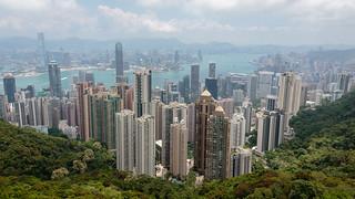 A View of Hong Kong Skyline