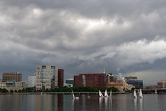 Cloudy evening on Charles River (4/4)