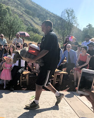 010 The Reluctant Ringbearer (saschmitz_earthlink_net) Tags: 2018 california angelesnationalforest losangelescounty sylmar reptacularranch kevinjessicawedding