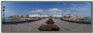 Eastbourne Hotels From The Pier Panorama 52 Weeks of 2018 Week #23 Panorama