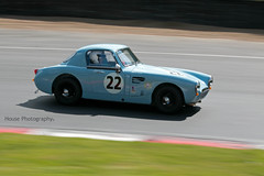 HRDC Austin Healey Sebring Sprint ({House} Photography) Tags: hrdc touring greats allstars 1960 pre classic car automotive race motor sport motorsport brands hatch uk kent fawkham panning canon 70d 70200 f4 housephotography timothyhouse austin healey sebring sprint