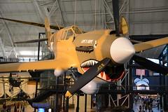 NASM_0010 Curtiss P-40E Kittyhawk (kurtsj00) Tags: nationalairandspacemuseum nasm smithsonian udvarhazy curtiss p40e kittyhawk