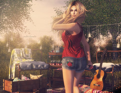 backyard sundays (Callie Hamelin) Tags: fameshed fameshedgo vinyl unkindness keke littlebranch convair thor tableauvivant raynemorgan