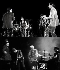 U2 1991/2018 (cinesonic) Tags: u2 zoo tv songs experience bono adam edge larry black white concert photos