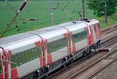 Overton Bridge Class 92 Set Side (Ravensthorpe) Tags: york rail trains electric