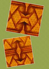Phantom Parade (Desfile de fantasmas) (mganans) Tags: origami tessellation