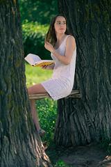 Anya (Dennis Mikhaylov) Tags: girl portrait natural light silver reflector nikon d3300 nikkor 50mm f12 12 ais manual noncpu