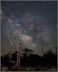 A Very Dark Place 0702 (maguire33@verizon.net) Tags: cratersofthemoon cratersofthemoonnationalmonument milkyway black galaxy lava stars idaho unitedstates us
