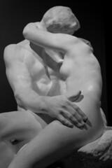 The Kiss (richardr) Tags: rodin thekiss augusterodin sculpture bw blackandwhite blackwhite statuary statue bloomsbury london britishmuseum museum england english britain british greatbritain uk unitedkingdom europe european old history heritage historic
