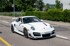 997 Techart GT Street RS (Nico K. Photography) Tags: porsche 997 techart gt street rs rare white supercars nicokphotography switzerland zürich