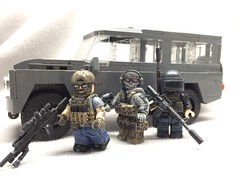 Military custom figures (LJH91) Tags: landrover pubg ghostrecon military pc game ghost