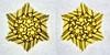 Yellow (Marjan Smeijsters) (De Rode Olifant) Tags: origami paper marjansmeijsters tessellation hexagon triangle yellow paperfolding 3d