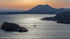 Safe Home (PapaPiper (Travelling with my camera)) Tags: greece attica athens sounion sunset seascape boats safehaven europe sea aegean greatphotographers greaterphotographers greatestphotographers ultimatephotographers
