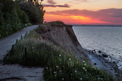 sunset Brodtener Steilufer (LB-fotos) Tags: water wasser ostsee sunset sonnenuntergang coast küste beach sun nature natur ocean meer balticsea steilküste zeiss