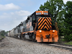 Roaring east (Robby Gragg) Tags: we wle sd402 7005 spencer