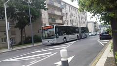 Transdev CSO Mercedes Citaro II G BZ-586-CW (78) n°11533 (couvrat.sylvain) Tags: transdev cso courriers seine oise mercedesbenz mercedes citaro ii facelift o 530 o530g bus autobus articulé poissy
