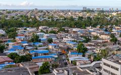 Blue Tarp Roofs - 8 months after Maria (ep_jhu) Tags: view x100f roofs bluetarps fuji hurricanemaria puertorico fema sanjuan pr maria fujifilm damage
