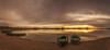 Tarde en la laguna. (Amparo Hervella) Tags: villafrancadeloscaballeros toledo españa spain paisaje panorámica lago agua cielo nube atardecer barca reflejo naturaleza color largaexposición d7000 nikon nikond7000