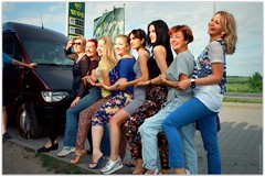 Pin-up girls (Ігор Кириловський) Tags: pinup girls c41 135 35mm kyrylovsky igorkirilovskiy ivanofrankivsk ukraine slr minoltadynax404si minolta afzoom2880mmf3556 film kodakultramax400 markstudiolab chernivtsi